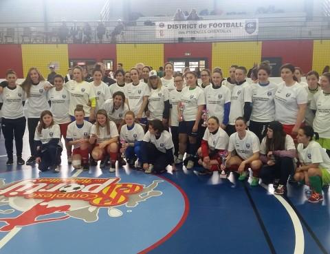Tournoi de futsal féminin sur Perpignan