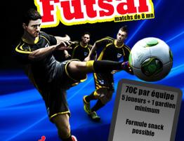 Tournoi du 18 mars 2017 - Futsal sur Perpignan