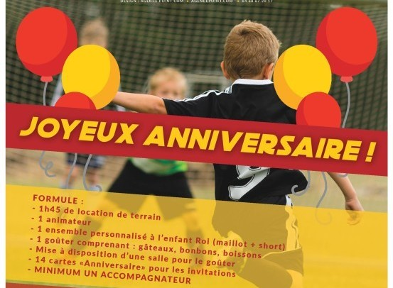 Anniversaires Pour Vos Enfants Au Complexe Sportif Du Roussillon