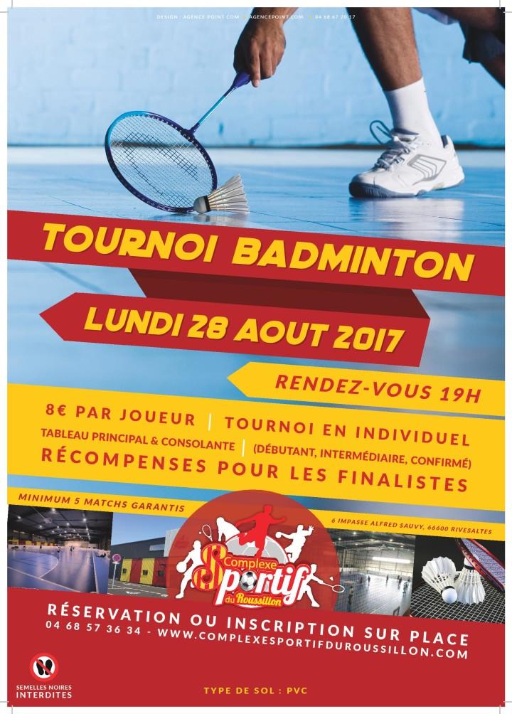 Tournoi de badminton dans le 66