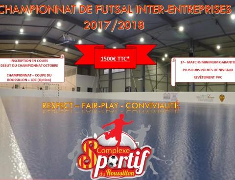 Championnat de futsal inter-entreprises dans le 66