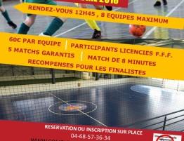 Affiche tournoi FUTSAL U13
