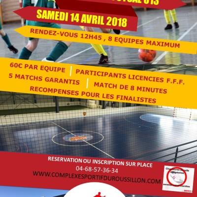 tournoi de Futsal U13 dans le 66