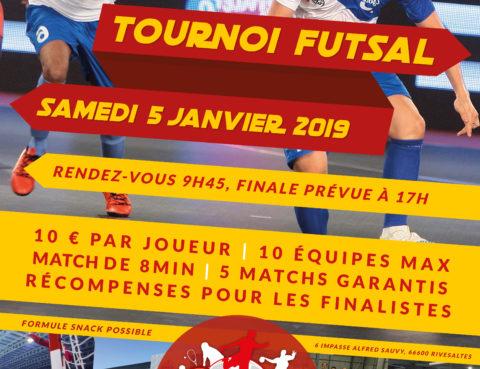 Tournoi Futsal Séniors