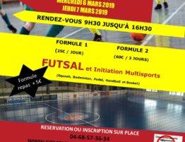 Stage multisports sur Rivesalte